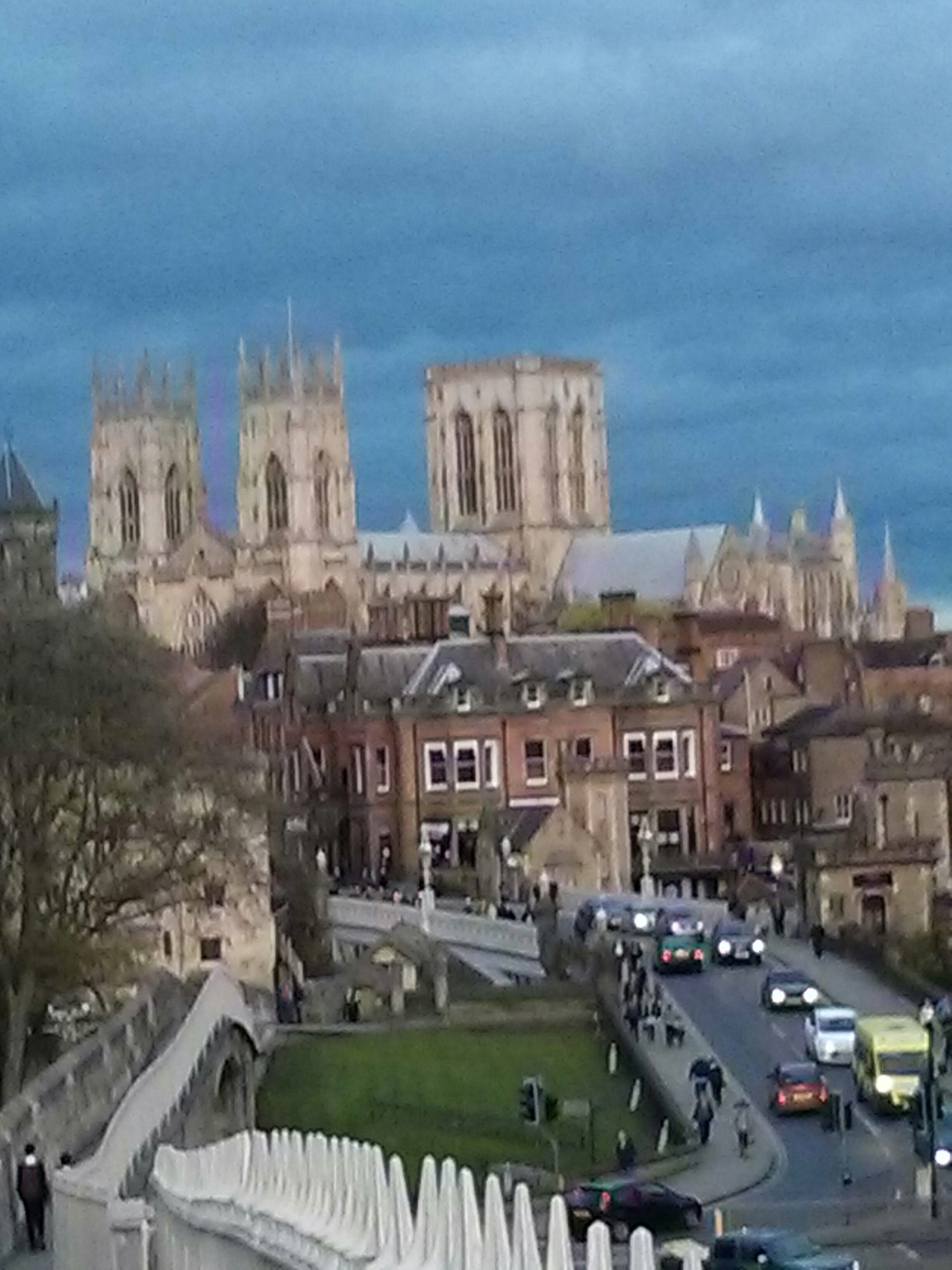 York Minster from city wall
